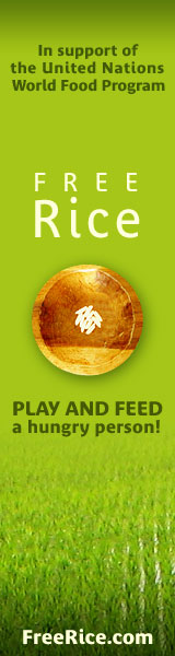 freerice.com -- feed the hungry!
